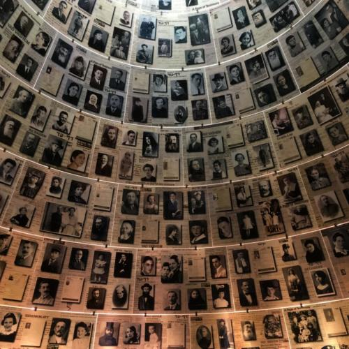 Hall of Names at Yad Vashem