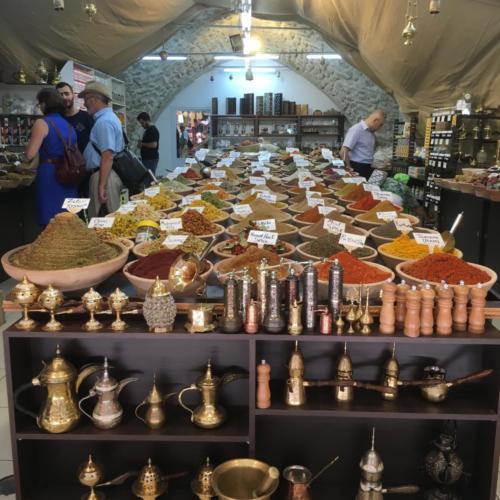 A Jerusalem Spice Market